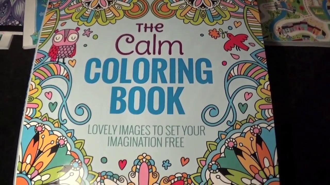 Asmr 3 The Calm Coloring Book Flip Through Quiet Rebel Adult
