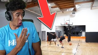 TJASS CAN PLAY DEFENSE TOO?! Cash 1v1 Basketball Against TJass Reaction!
