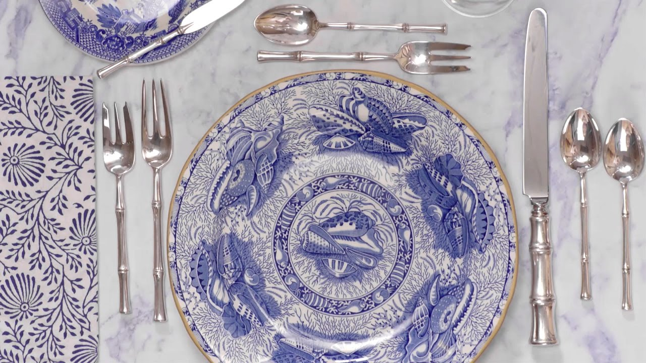 How to Set a Table: Formal and Informal Place Settings - YouTube