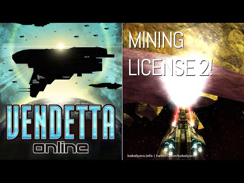 Mining License Level 2 Acquired! 🌟 VENDETTA ONLINE Gameplay