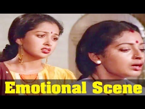 Rajanadai Movie : Seetha, Emotional By Gouthami