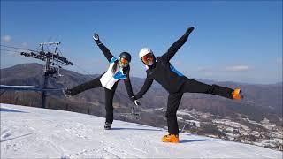 울신랑 스키타는 모습입니다~^^