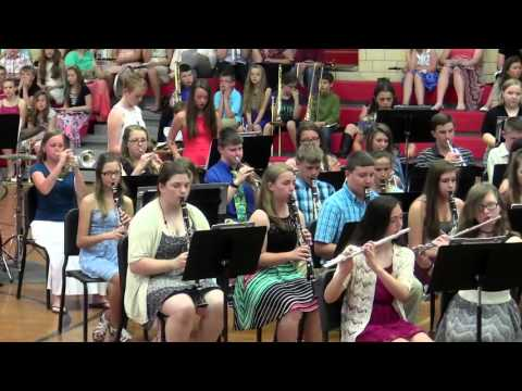 Staunton Junior High Spring Band Concert