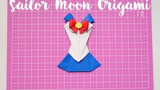 Sailor Moon Origami/ vestido de papel