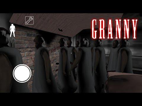 100 БАБУЛЕК В ОДНОМ ДОМЕ!? Granny