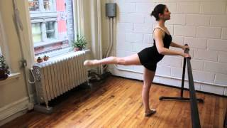 fitBallet // Arabesque Pulses