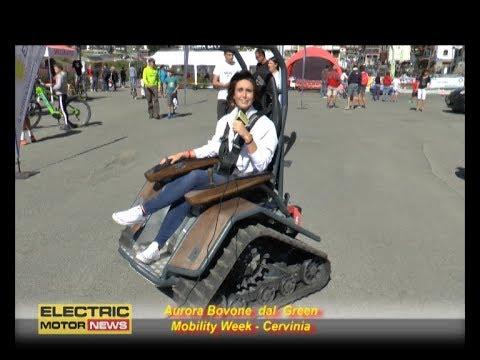 Il cingolato Zisel - Electric Motor News alla Green Mobility Week