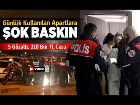 Denizli'de günlük kullanılan apartlara şok baskınlarda ceza yağdı - Denizli Haber - HABERDENİZLİ.COM