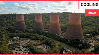 Footage shows historic Ironbridge Power Station being demolished | SWNS TV