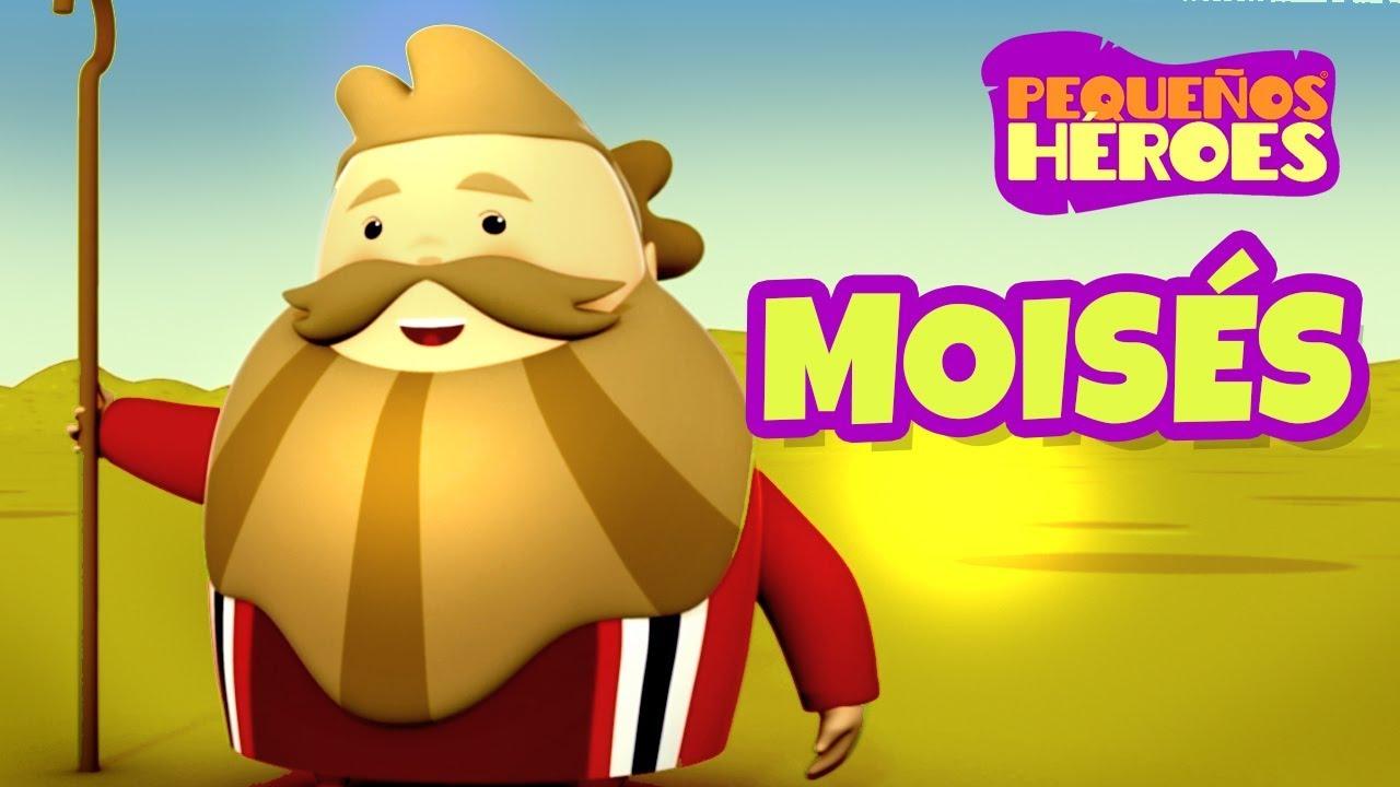 Historias de la Biblia para niños – Moisés – Pequeños Héroes