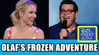 "Olaf's Frozen Adventure ""That Time of Year"" Song by Josh Gad + Kristen Bell Presentation: Disney D23"