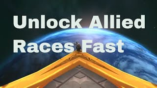 Unlock Allied Races Exalted FAST Army Of The Light Argussian Reach And Highmountain