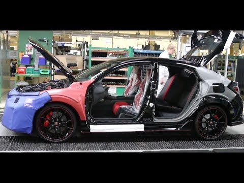 This Is How Honda Builds the New Civic Type R (Inside the Factory)