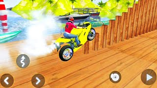 Motocross Motorbike 3D Track Stunt Racing Game | Bike Games | Motorcycle - Android Gameplay #60