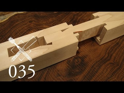 "Joint Venture Ep. 35: Pole tenon splice ""Saotsugi"" (Japanese Joinery)"