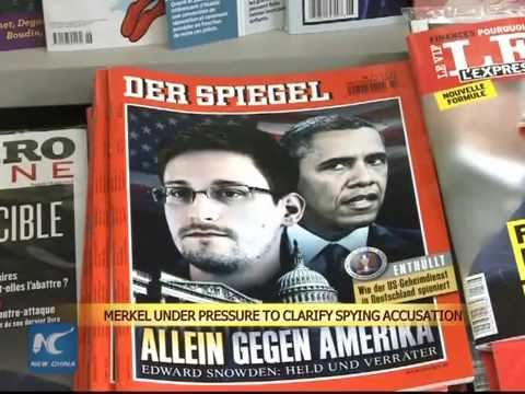 German chancellor asked to clarify U.S. spying list