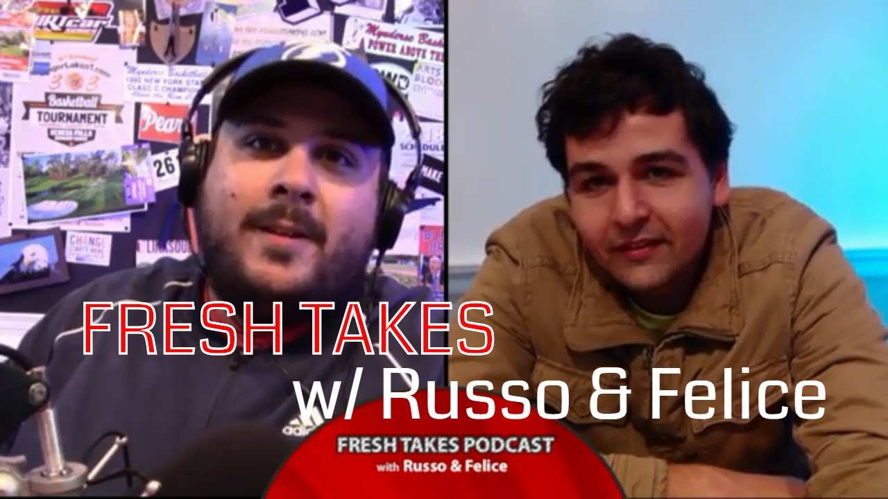MLB awards, playoffs, NHL hits the ice & football takes .::. Fresh Takes w/ Russo & Felice 10/2/18