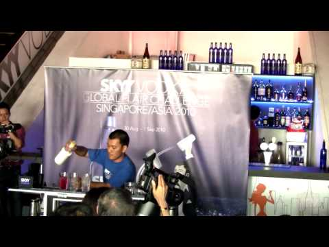 SKYY Vodka Global Flair Challenge 2010 SEA Finals - Thailand