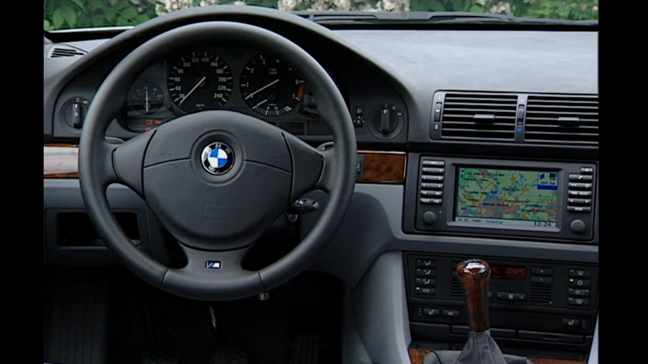 bmw 5 series 2002 interior