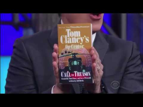 Stephen Colbert Explains Russiagate with Tom Clancy Novels