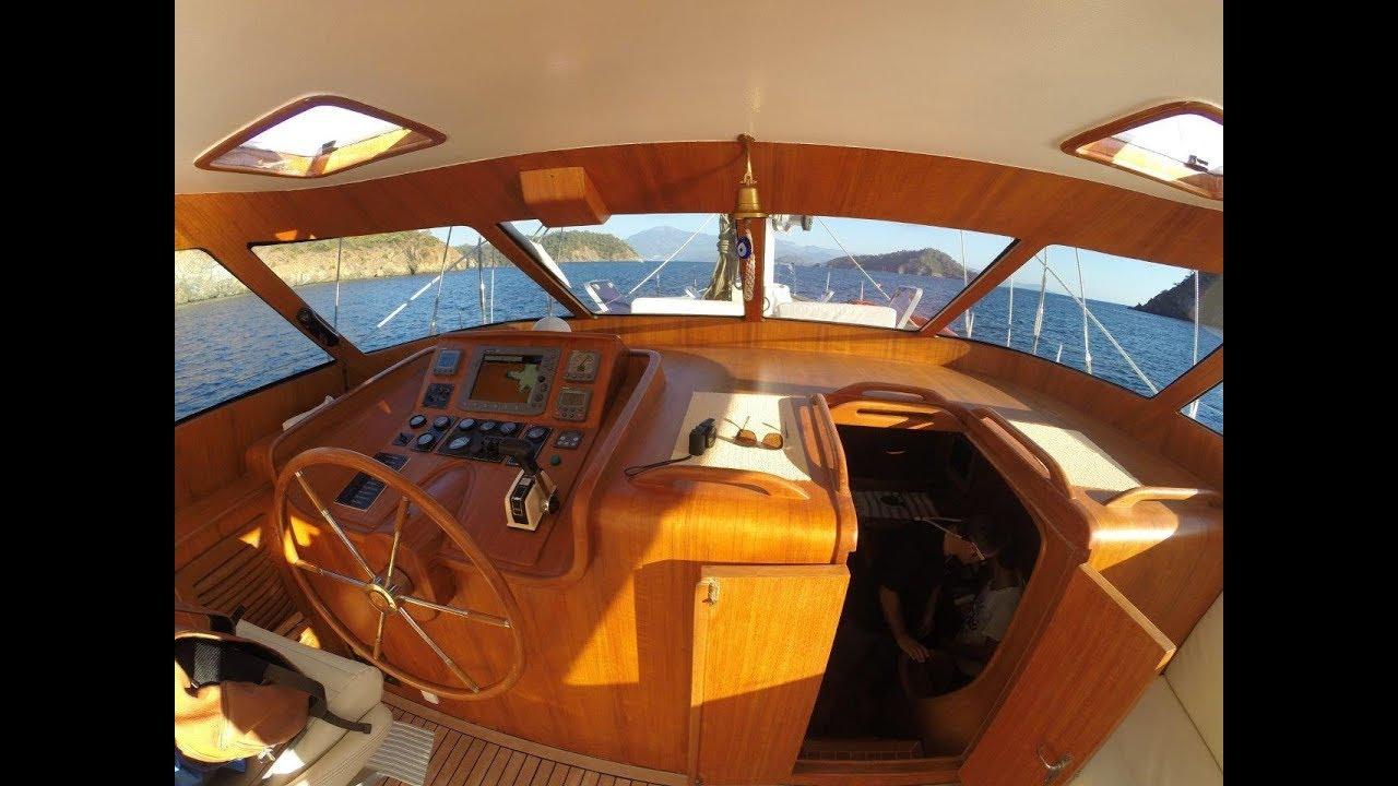 Sail Yacht 19 m For Sale Interior tour