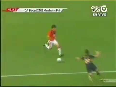 Luis Antonio Valencia debut Manchester United Gol
