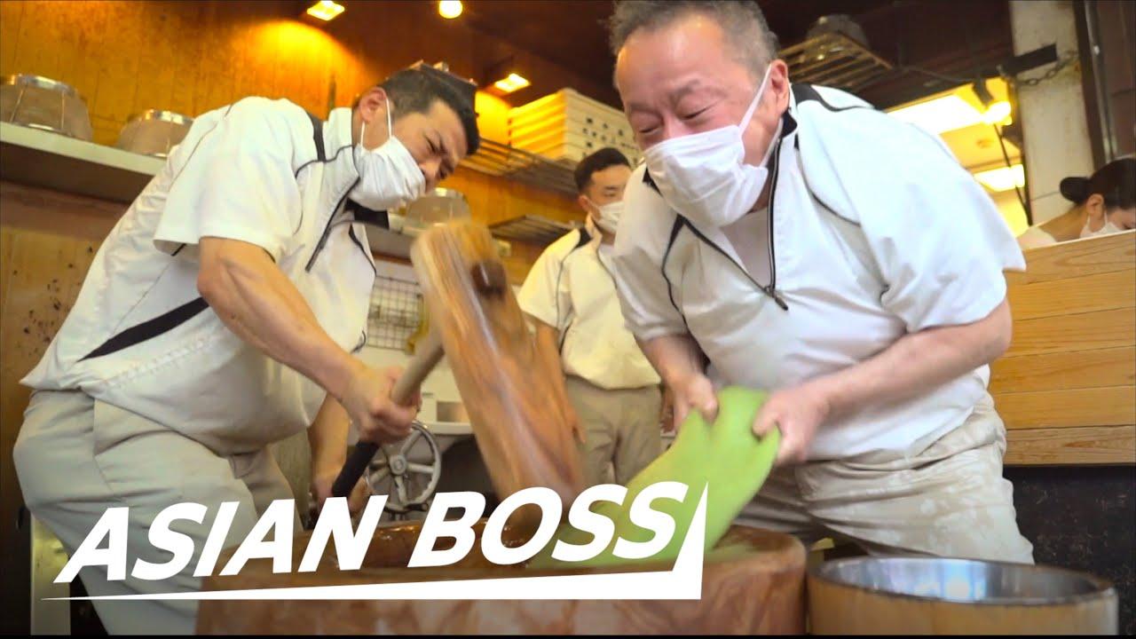 Meet Japan's Fastest Mochi Pounding Master
