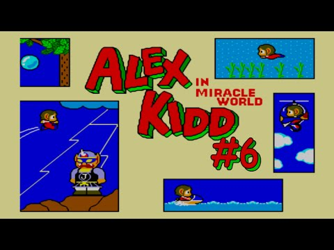 Alex Kidd In Miracle World 6 Janken The Great Youtube