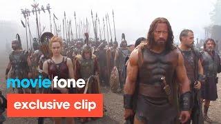 'Hercules' DVD Clip (2014): Dwayne Johnson, Ian McShane
