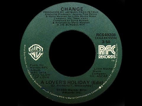 Change ~ A Lover's Holiday 1980 Disco Purrfection Version