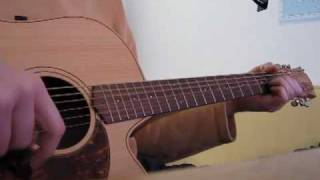 Keane - Everybody's changing - acoustic guitar cover by onlyfavoritemusic