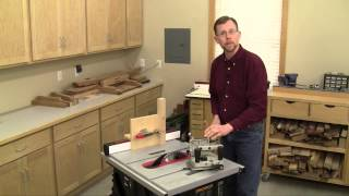Options For Cutting Tenons On A Table Saw