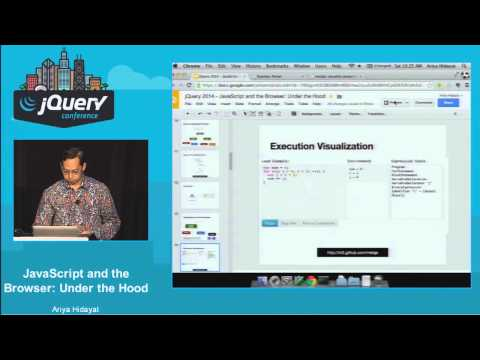 Ariya Hidayat - JavaScript and the Browser: Under the Hood