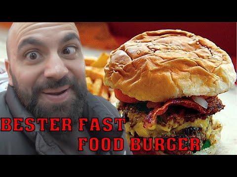 BESTER FAST FOOD BURGER!