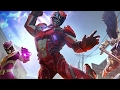 Power Rangers Game play on Asus Zenfone 3 Max ZC553KL