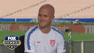 Michael Bradley talks about upcoming match against Mexico