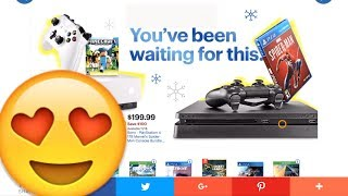 Black Friday 2018 DEALS CHEAP PS4 SLIM PSVR Switch Xbox Thanks Giving Video Game Sale