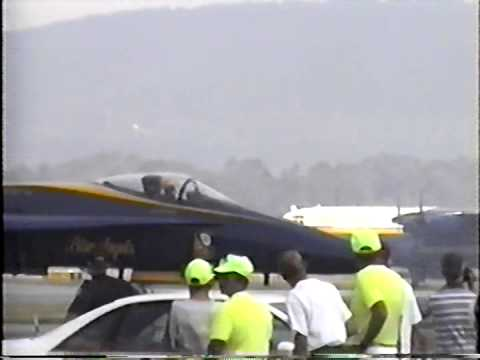 Reading PA Air Show, Reading Airport, Aug 19, 1995