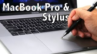 2016 & 2017 MacBook Pro Stylus Test - Meko Precision Stylus Review