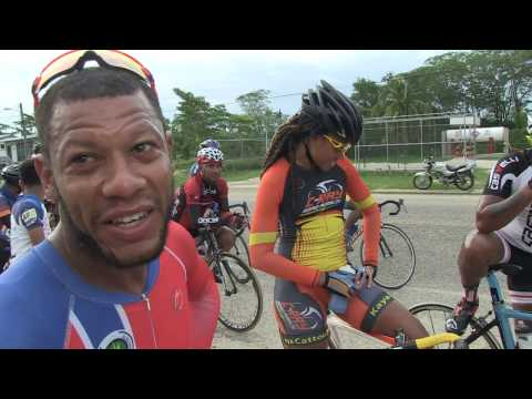 Santino thursday  Bike race in Belize