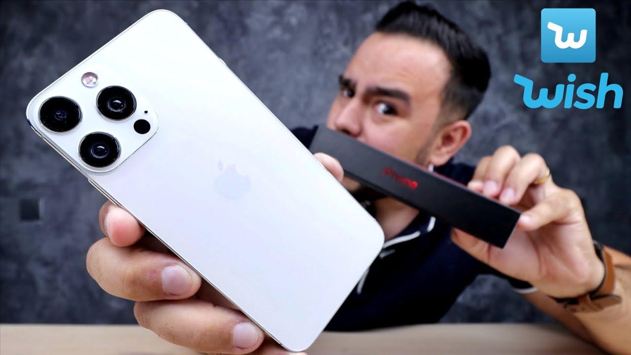 Download COMPREI um iPhone 13 Pro Max na WISH !