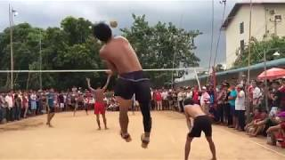 Khmer vs Vietnam Volleyball In Cambodia win 2017