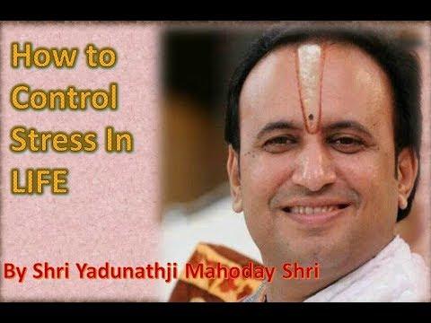 Vachnamrut on How to Control Stress - in Gujarati by Shri Yadunathji Mahoday Shri(Kadi-Ahmedabad)