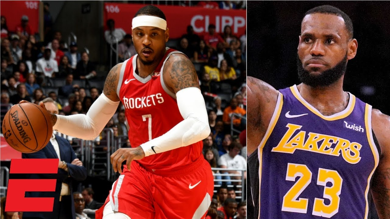 Should The Lakers Acquire Carmelo Anthony Espn Voices