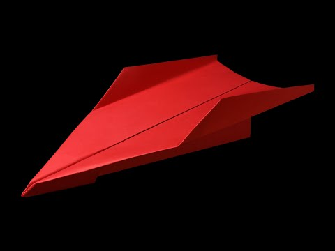 How to make a Paper Airplane that Flies Far - the Best paper airplane for Distance