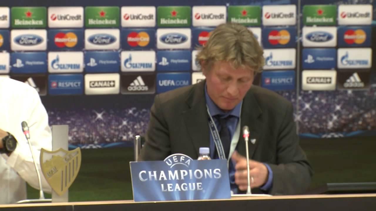 BVB Pressekonferenz vom 3. April 2013 nach dem Champions League Spiel Malaga CF gegen Borussia Dortmund 0:0