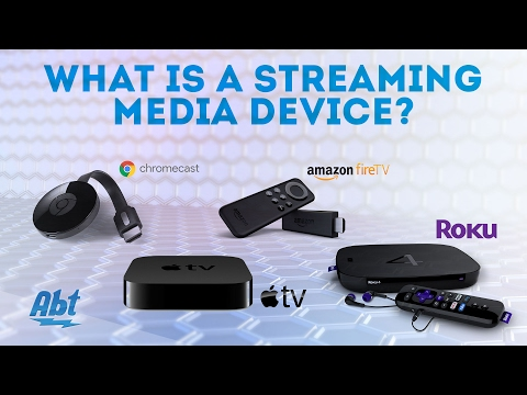 What Is A Streaming Media Device: Apple TV, Roku, Chromecast, Amazon Firestick