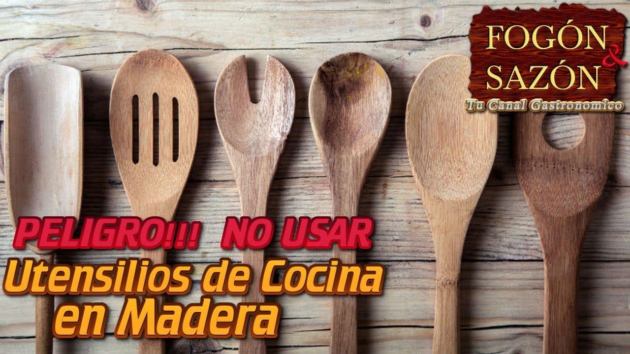 No Usar Utensilios De Cocina En Madera Peligro Youtube