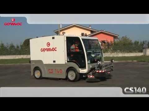 Comac street sweeper CS140 Twin Action