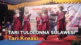 Tari Kreasi Tulolonna Sulawesi